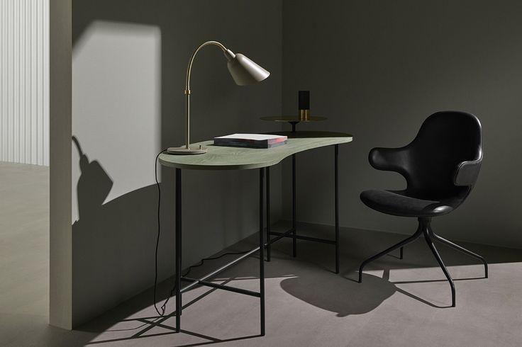 Palette Table JH9 av Jamie Rayon för &Tradition #&tradition #andtradition #marmorbord #skrivbord