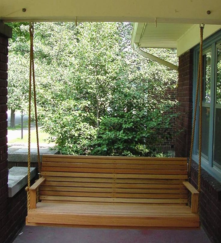 2016 Wooden Porch Swings for Sale - http://www.bluelittlewolf.com/2016-wooden-porch-swings-for-sale/