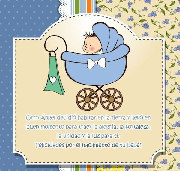 Resultado de imagen para es un niño felicitaciones por tu bebe