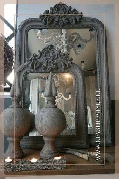 Landelijke spiegels @ www.neyslifestyle.nl