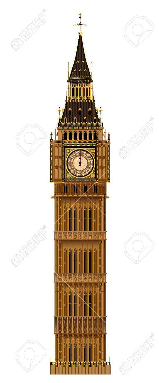 clip art clock tower - photo #25