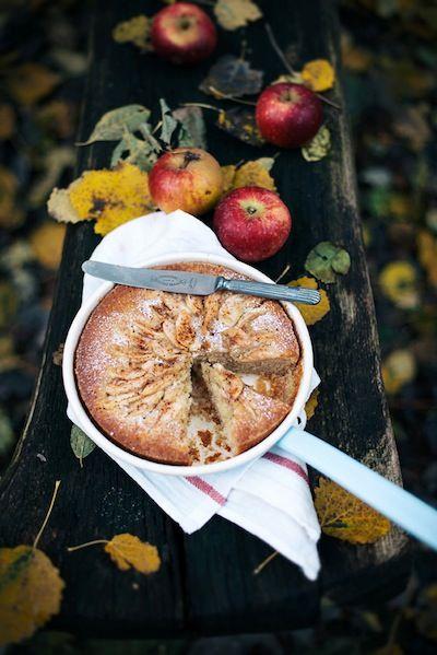 Apple Cake with Cinnamon Sugar Image Via: Camille Styles