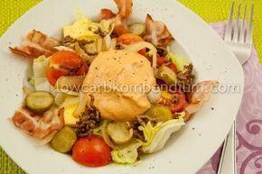 Big Mac Salat Low Carb