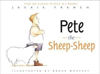 Elizabeth Reads a Book: Pete the Sheep-Sheep Written By Jackie French Illustrated by Bruce Whatley