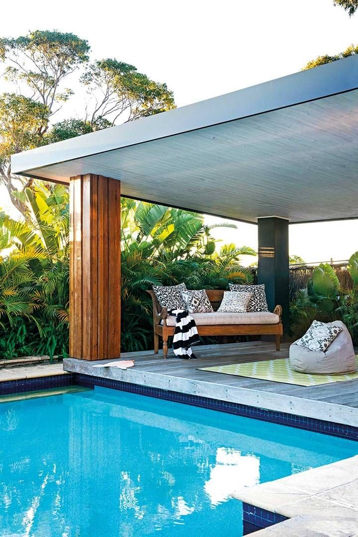 Living the dream pools to drool over outdoor - What do dreams about swimming pools mean ...