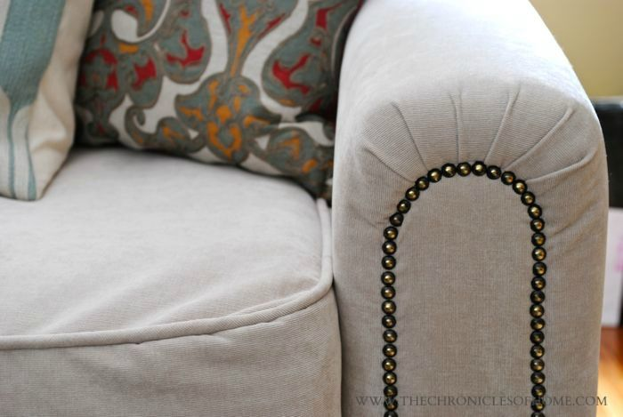 Share Tweet + 1 Mail Thank you again for all the super nice comments this past week about my sofa reupholstery job.  It's one ...