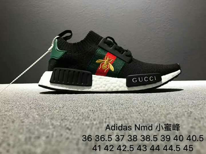 73f7e55ed3224 Pin by Shoes 202 on ADIDAS Nmd bee Gucci