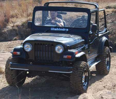 Mahindra Thar ... The ultimate off roading SUV
