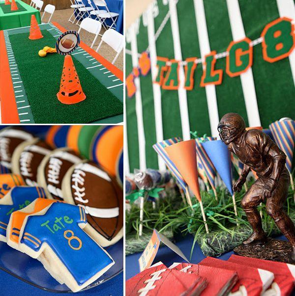 football tailgate party: Theme Birthday Parties, Kids Parties, Party'S, Football Tailgating, Football Parties, Parties Ideas, Tailgating Parties, Tailgate Parties, Party Ideas