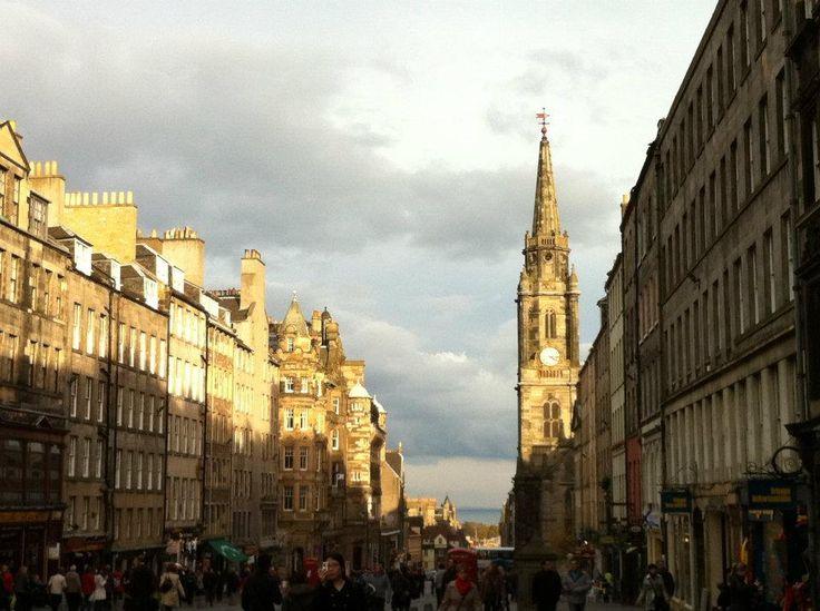 All over Glasgow & Edinburgh, Scotland