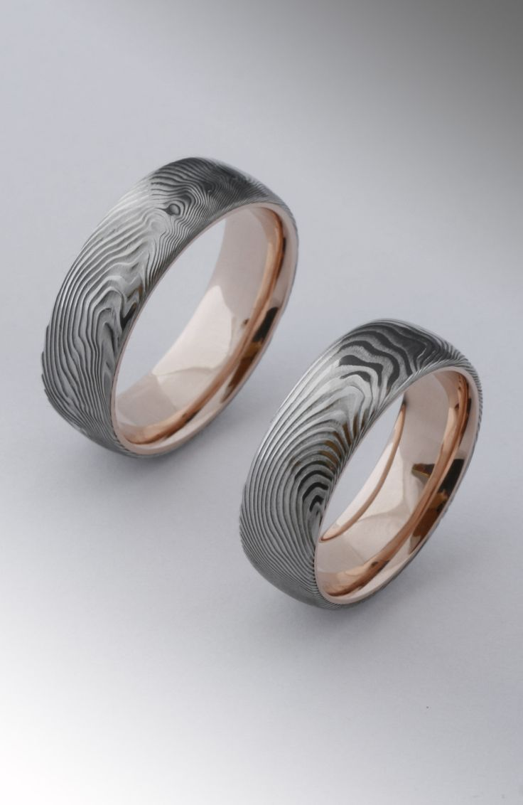 damasteel ring rose gold inside  Bővebben a weboldalon