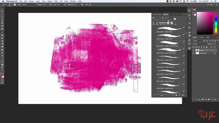 فرش للفوتوشوب تعطي تاثير مثل المصممين العالميين Photoshop Brushes Photoshop Visual Art