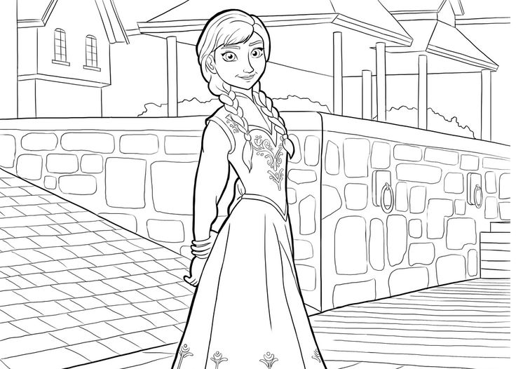 19 best Frozen Coloring Pages images on Pinterest Frozen