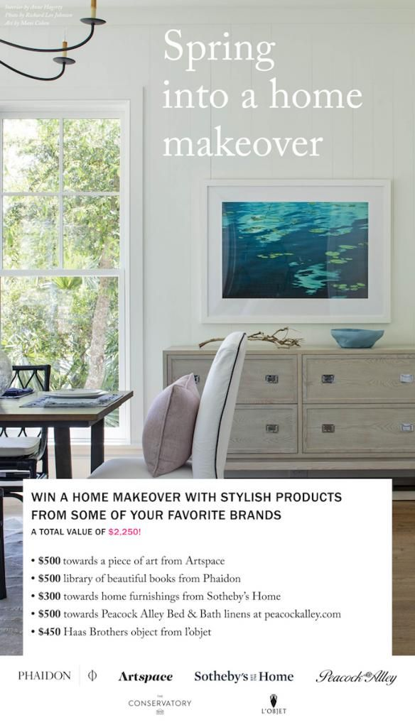 Spring Into A Home Makeover Win A House Home Furnishings Home