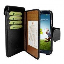 Forro Samsung Galaxy S4 Piel Frama Wallet - Negra  Bs.F. 807,28
