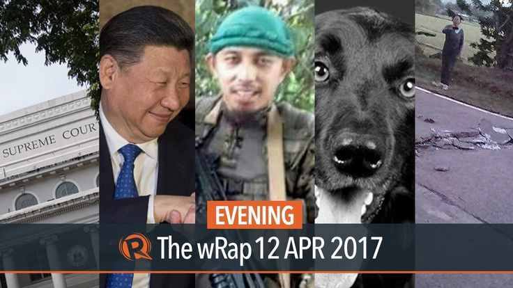 Abu Sayyaf, Xi on Trump, Taiwan | Evening wRap - WATCH VIDEO HERE -> http://dutertenewstoday.com/abu-sayyaf-xi-on-trump-taiwan-evening-wrap/   Today on Rappler: Leader and spokesman of the Abu Sayyaf Group Muamar Askali is among those killed in clashes with government forces in Inabanga, Bohol. The Supreme Court orders a cash payment of P81.46 million to proceed with the election protest of former senator Bongbong Marcos against Vice...