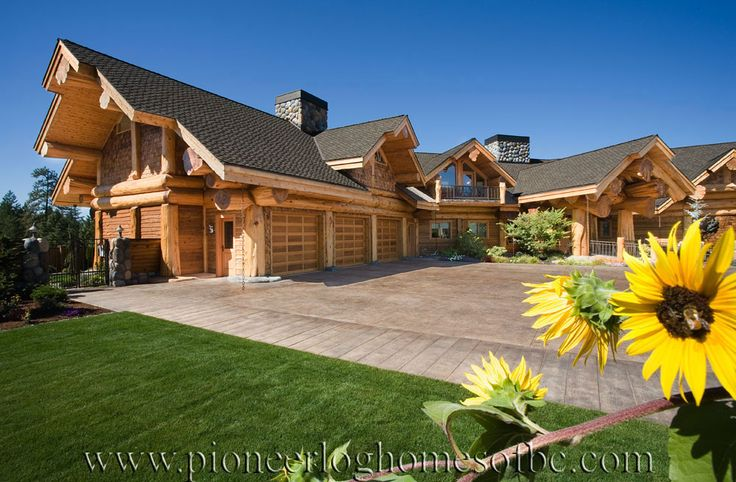 pioneer log homes of bc log home pinterest colombie britannique b ches et galeries. Black Bedroom Furniture Sets. Home Design Ideas