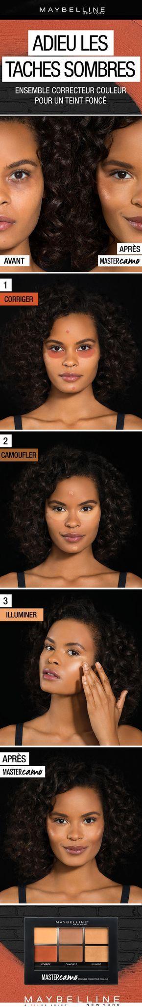 les 25 meilleures id es de la cat gorie correcteur sur pinterest maquillage 101 comment. Black Bedroom Furniture Sets. Home Design Ideas
