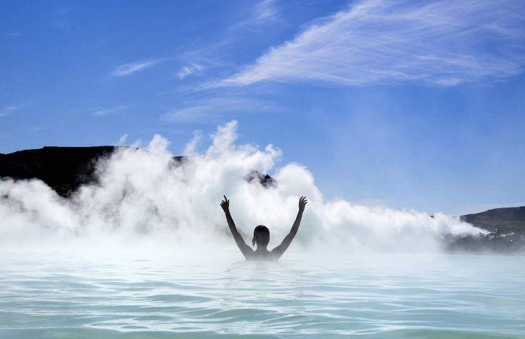 Un bagno termale: esperienza da non perdere in Islanda!