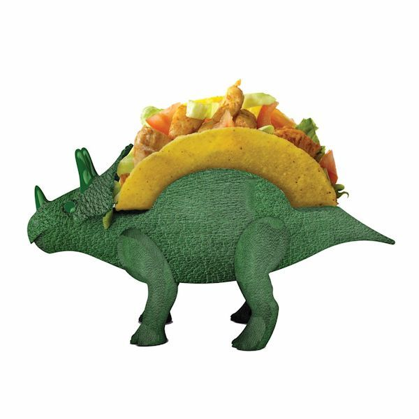 Triceratops Taco Holder At What On Earth Cs9742