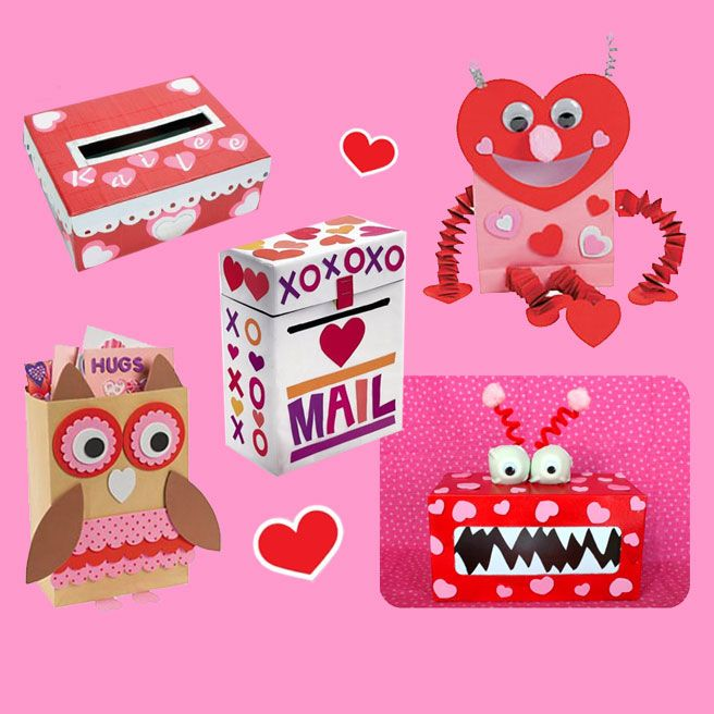 Crafts That Go On Shoe Boxes For Valentine S Day