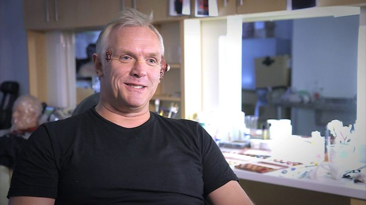 There be monsters in the shadows of Doctor Who sets, as Greg Davies found out!