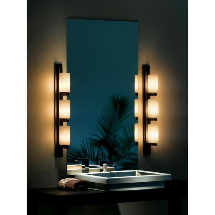 Ondrian Vertical Bathroom Vanity Light by Hubbardton Forge ...