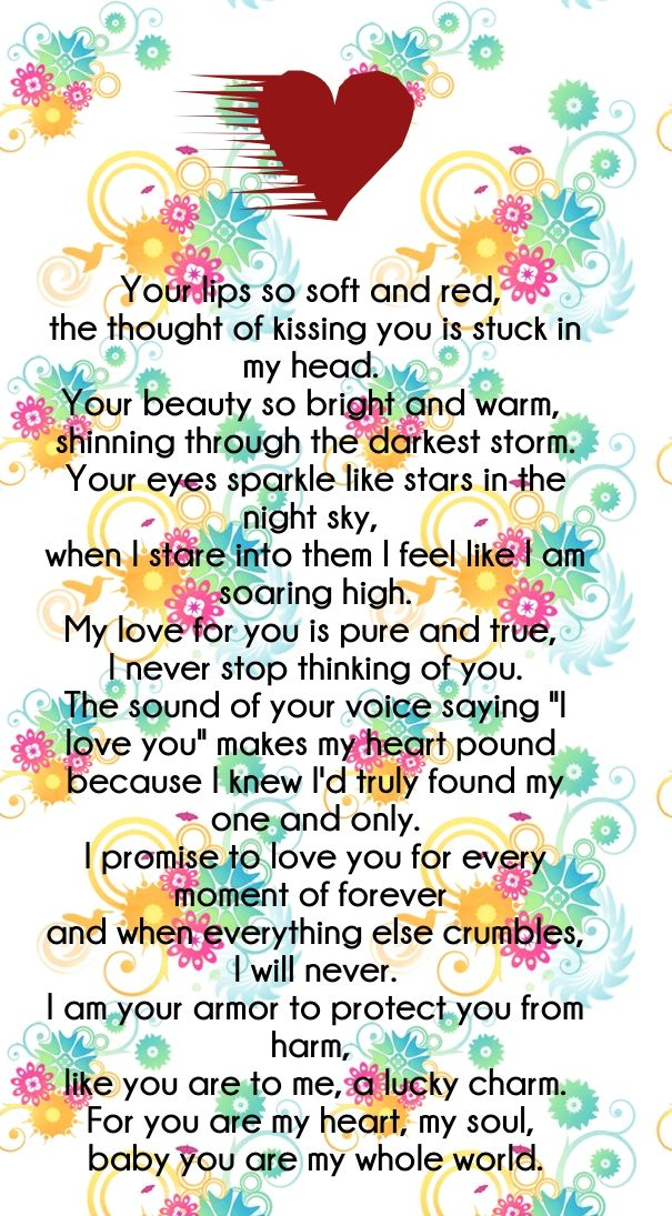 Emotionally Express Love Poems & Quotes for Him and Her ...