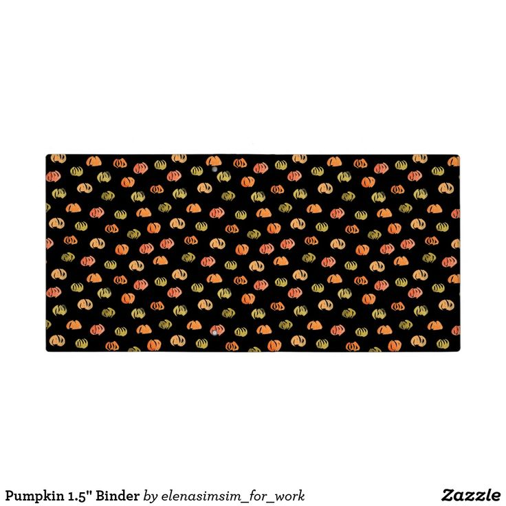 Pumpkin 1.5'' Binder