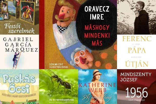 Nagy novemberi könyvmustra. Új kötetek, új olvasmányélmények