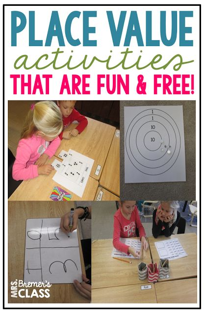 Mrs. Bremer's Class: Six FREE Place Value Games {Tens and Ones}