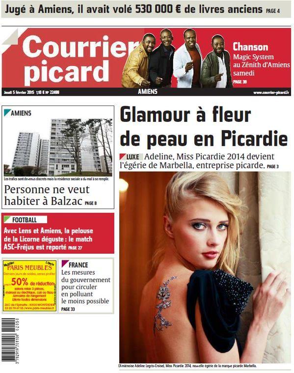 ✍ Published in the French magazine with the new Marbella star Adeline Legris Croisel Miss Picardie #adelinelegriscroisel   photo: @sarasvatistudio @mitsukomeignien  #sarasvati #nué