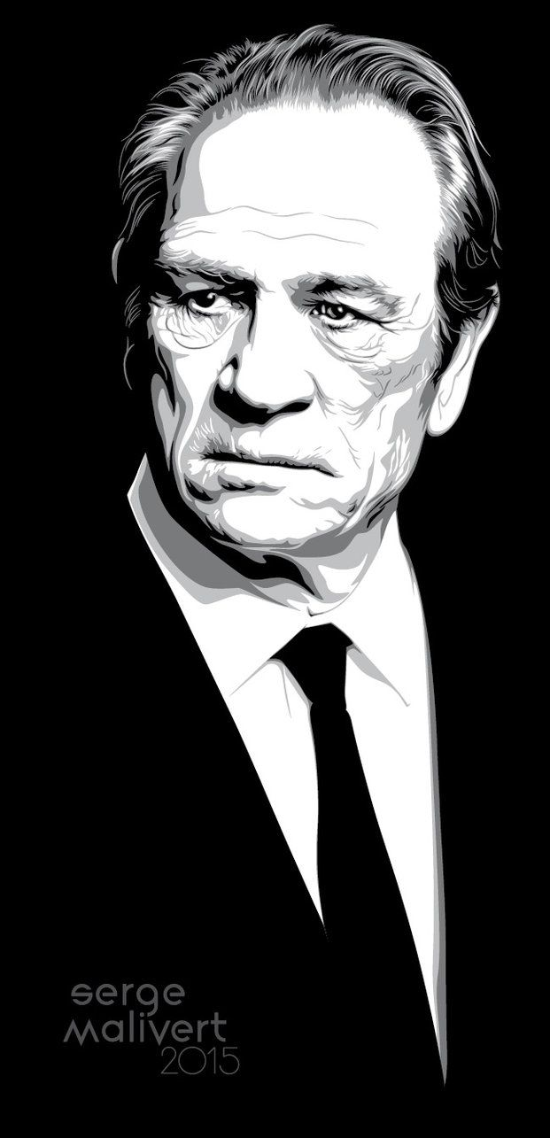 Tommy Lee Jones by sergemalivert