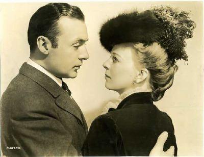 Still of CHARLES BOYER & MARGARET SULLAVAN in the 1941 Robert Stevenson Drama BACK STREET, based on the novel by Fannie Hurst.
