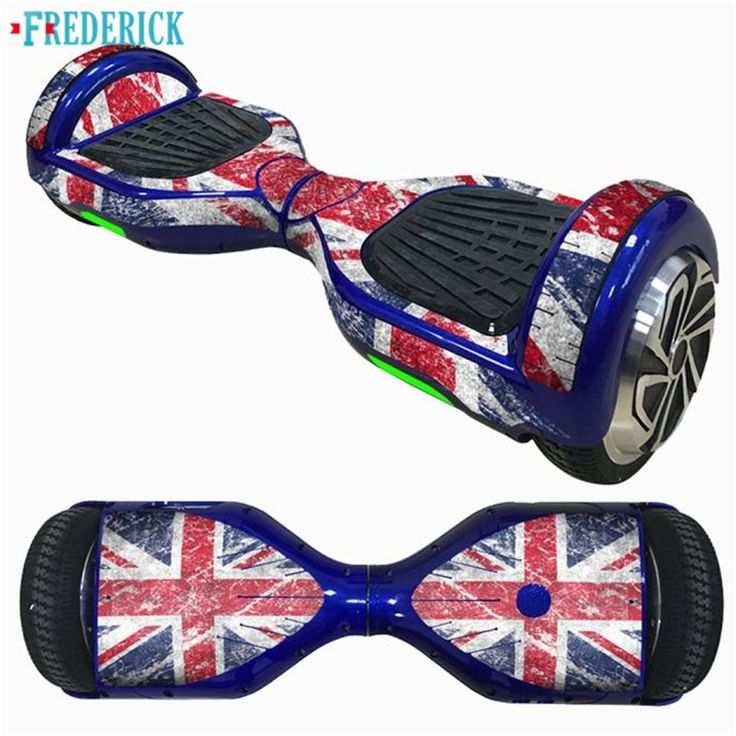 Frederick Self-Balancing Scooter SkinHover Electric Skate Board Sticker Two-Wheel Smart Protective Cover Case StickerS 1PC