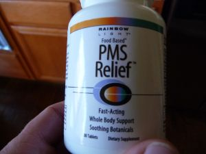 Solving the mystery of PMS & PMDD Surprising food that helps to alleviate if not eliminate symptoms I've tried this and it works! And your body recognizes it better than it does supplements like the one in the photo