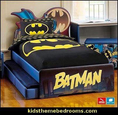 BATMAN BED-Boys batman theme beds-batman bedroom furniture
