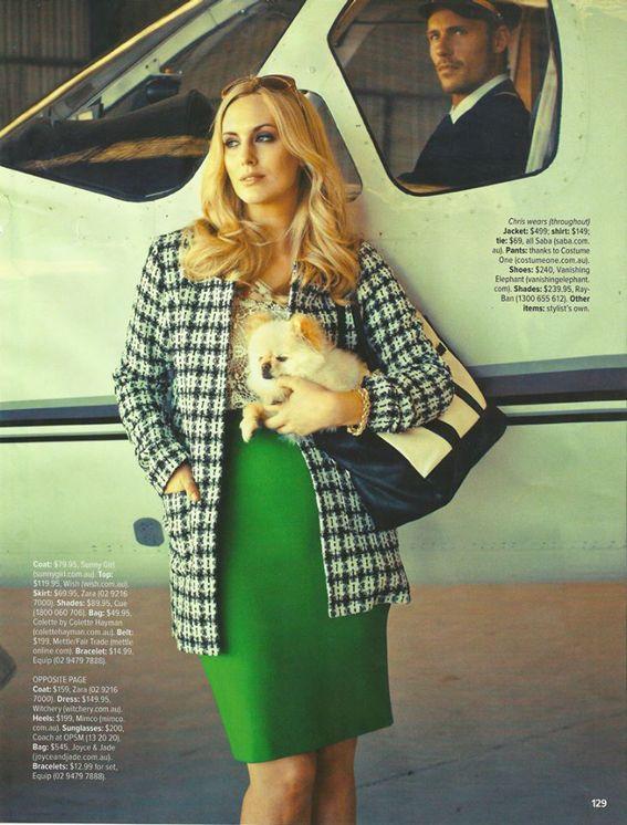 Jessica King in Cosmopolitan Australia