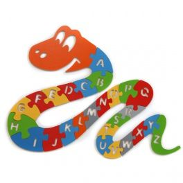 Puzzle for stimulating child's imagination and learning the alphabet. Made by Neo-Spiro.