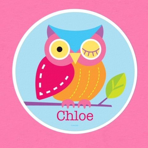 It's a hoot! Personalized Owl T-shirt by Olive Kids!