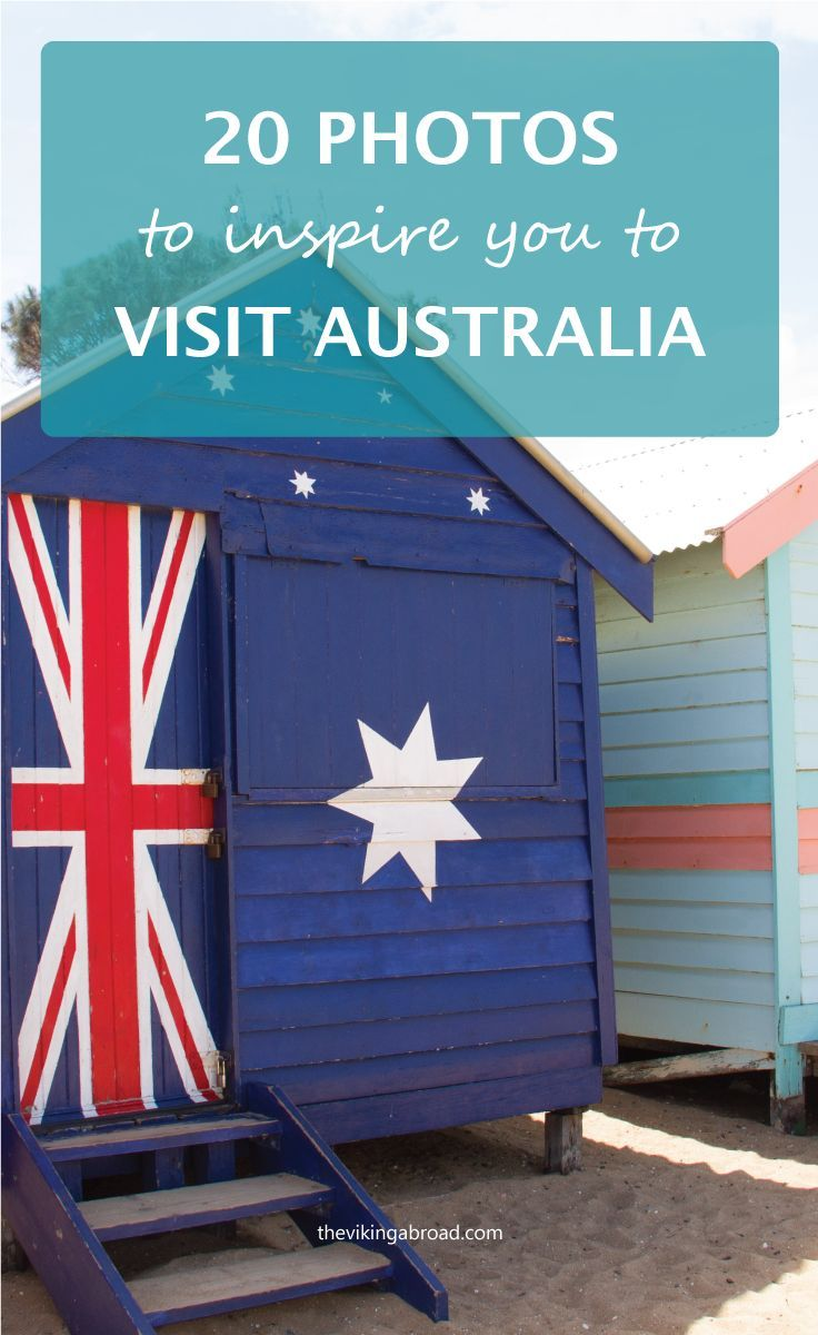 Need some travel inspiration? Or always wanted to travel to Australia? Look no further. Here is a selection of 20 photos that will inspire you to visit Australia.