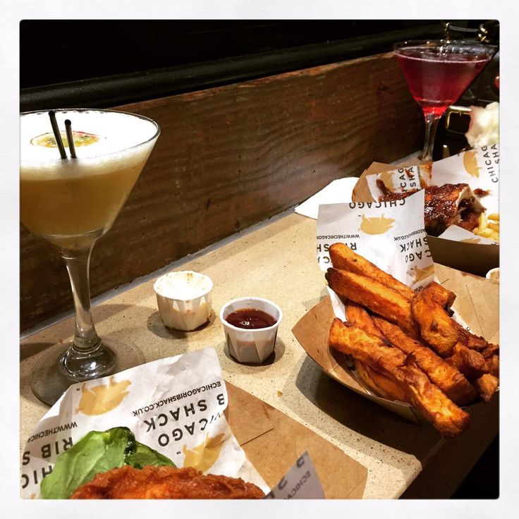 Martinis and ribs, not a bad way to spend a Saturday! @360_Trinity @ChicagoRibShack