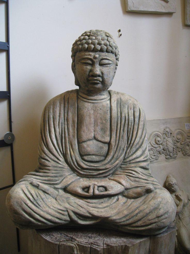 Large Meditating Chinese Buddha by ConcreteDesignStudio on Etsy https://www.etsy.com/listing/123591015/large-meditating-chinese-buddha