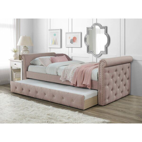 Seddon Twin Daybed With Trundle In 2020 With Images Twin