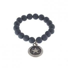 """Biba"" armband blauw grijs swarovski | Armbanden | HippeSieraden.com"