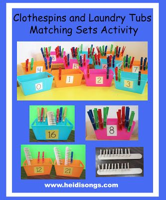Heidisongs Resource: Creative Common Core Math: Matching Sets from 0-30