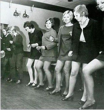 60's MOD skinhead girls.