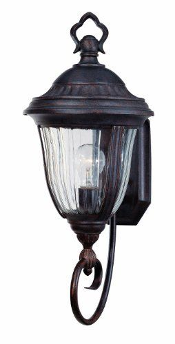 Thomas Lighting M5206-23 Biltmore One-Light Outdoor Wall Lantern, Colonial Bronze by Thomas Lighting. $58.06. From the Manufacturer                The Biltmore Collection by Thomas Lighting offers a transitional style with a colonial bronze finish, fluted water glass panels in a variety of sizes to accent the exterior of any home.                                    Product Description                One-light outdoor wall fixture in Colonial Bronze finish with Fl...