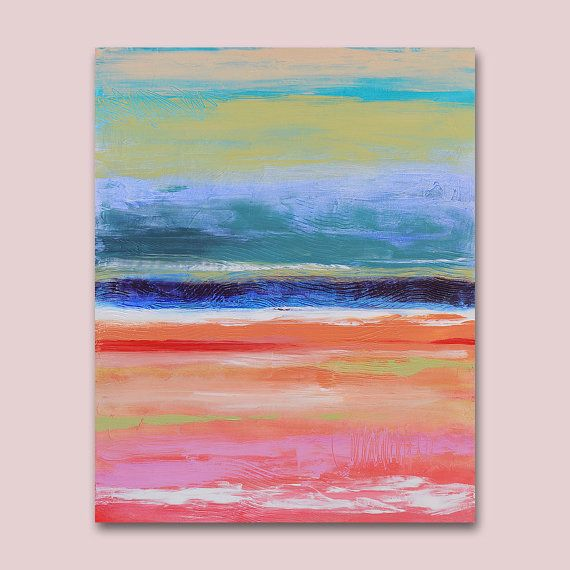 Original Abstract Art Painting    30 x  24 by Art2DStudio on Etsy, $189.00