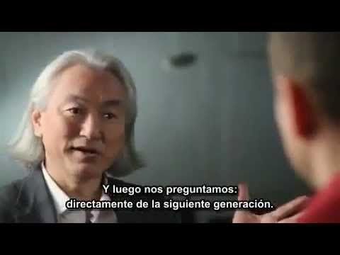 I have had a superscience geek crush on Michio Kaku for ages....this is as good an example as any as to why.